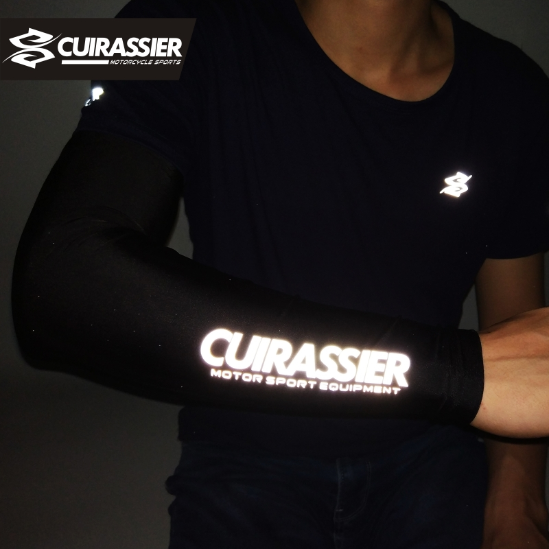 Cuirassier ST01 Motorcycle Cooling Reflective Durable Scratch-Resistant Sun Protection UV 400 Silicon Cooling Cover Arm Sleeve