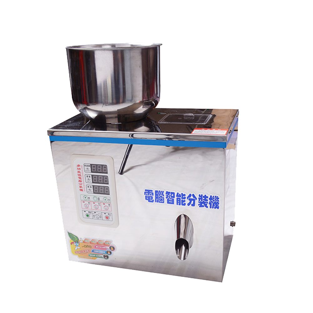 Packing filling machine for liquid / particles/powder