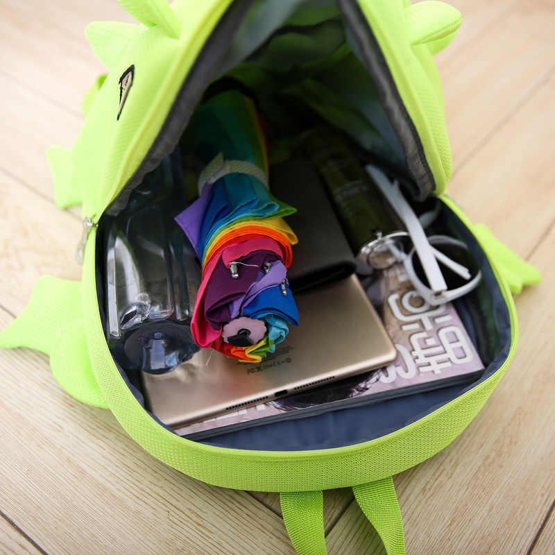 2019 креативный женский мужской новый стиль детский модный рюкзак с героями мультфильмов Монстр динозавров школьная сумка подростковые рюкзаки для путешествий