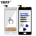 New Front High Touch Screen Digitizer Glass Panel Replacement For Meizu Meilan U10 U680A Lens Sensor Replacement  Adhesive Logo