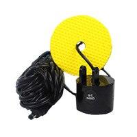 Portable Fish Finder Sonar Sounder Alarm Part Transducer Fishfinder Underwater Part Fishing Echo Sounder Separate