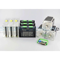 3 Axis CNC Kit 13Nm(1841oz.in) Nema 34 Stepper Motor & MA860H Driver CNC Plasma Laser Lathe