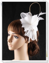 17 colors artistic sinamay feather material fascinator photographic studio headpiece bar font b hat b font