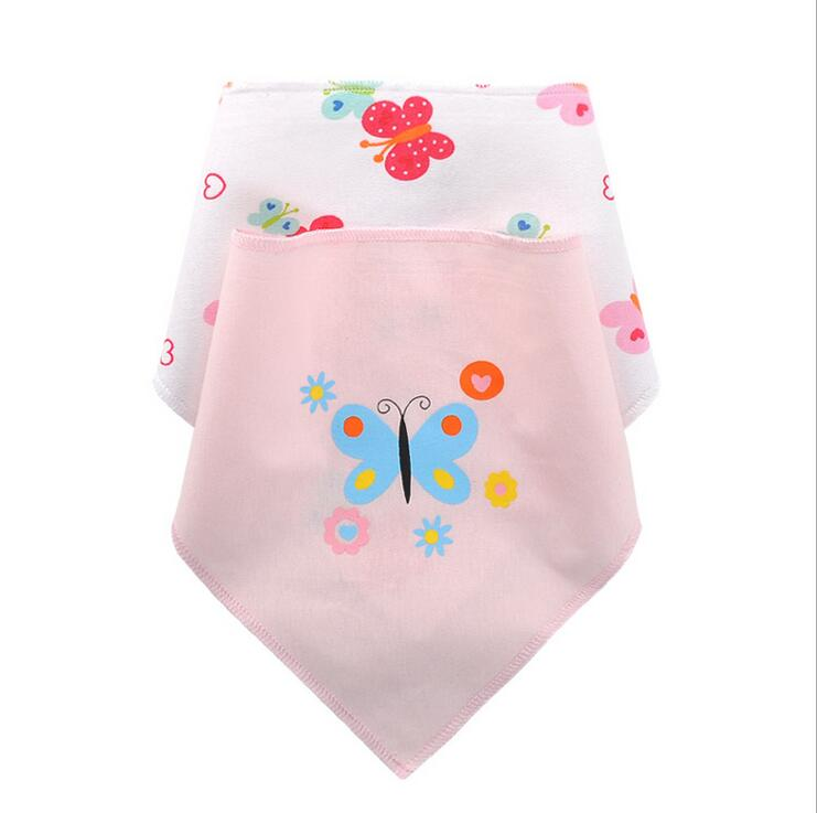 1 set baby bibs cotton girls boys bandana saliva towel burp bebes cloth Accessories Infa ...