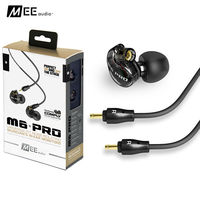 MEE Audio M6 PRO Monitors Bass HIfi Earphone Noise Isolating DJ Monitors Earphone With Detachable Cables
