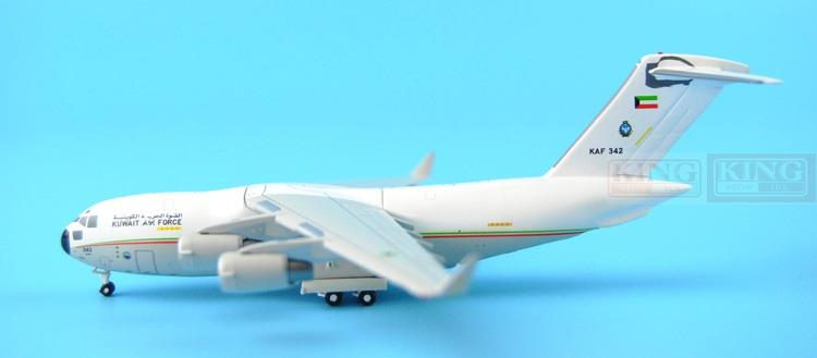GMKUF064 C-17 Kuwait air force 1:400 GeminiJets commercial jetliners plane model hobby special offer wings xx4232 jc korean air hl7630 1 400 b747 8i commercial jetliners plane model hobby