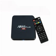 Nouveau Android TV Box M8s + M8S PLUS S905 Android 5.1 Quad Core 1000 M KD 16.0 Media Player BT4.0 m8 z4 rk8 kiii Set Top Box