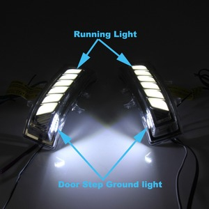 Image 3 - กระจกมองหลังกระจกหมุนแบบไดนามิกสำหรับToyota Sienna VOXY RAV4 Highlander Estima Alphard NOAH Previa Fortuner VELLFIRE20
