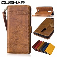 Luxury Retro Flip Case For Xiaomi Redmi Note 3 Pro Prime Leather Soft Silicon Wallet Cover