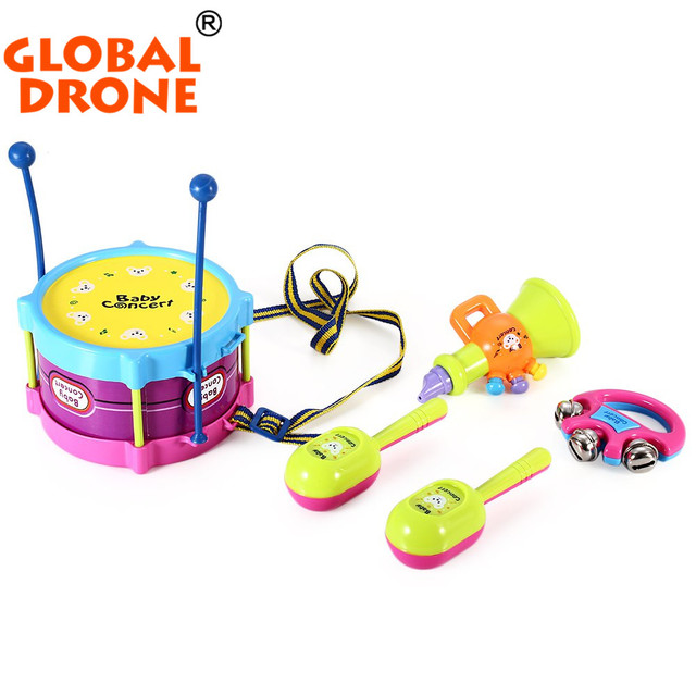 New Arrival Baby Educational Toys Musical Baby Rattle Toys Hand Drum Beat Rattles Perfect Gift For Children