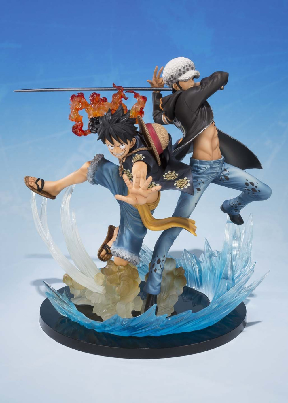 One Piece Luffy Trafalgar Law 5th Anime Collectible Action Figures PVC Collection toys for christmas gift with Retail box image