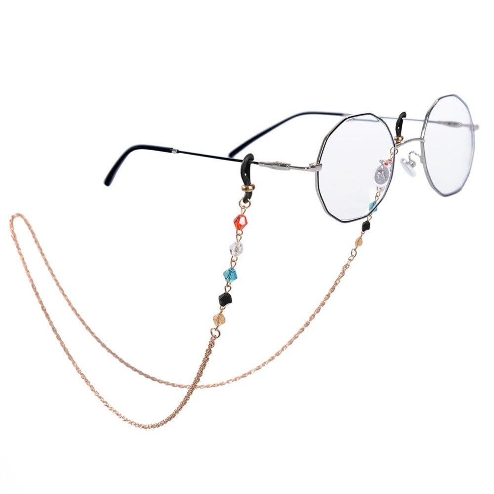 Women's Glasses Apparel Accessories Bright Sunglasses Cord Time-limited Women Zinc Alloy Sunglasses Chain Cuerda Gafas New Glasses Hanging Jewelry Neck Snow