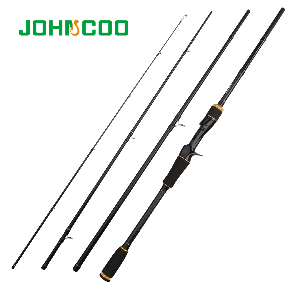 JOHNCOO 2.1m 2.4m 2.7m 5-20g Carbon Fiber Rod Fast Action Spinning Fishing Rod Casting Travel Rod 4 Sections Sensitive Lure RodJOHNCOO 2.1m 2.4m 2.7m 5-20g Carbon Fiber Rod Fast Action Spinning Fishing Rod Casting Travel Rod 4 Sections Sensitive Lure Rod