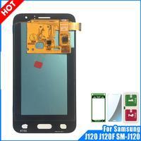 Super AMOLED ЖК-дисплей для Samsung Galaxy J1 2016 J120 J120F J120DS J120G J120M J120H ЖК-дисплей Экран Дисплей с сенсорным экраном дигитайзер в сборе