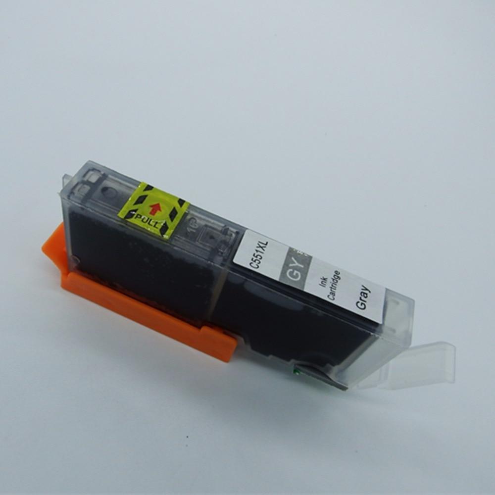 Canon MG5450 MG5550 MG6450 Ip7250 MX925 MX725 IX6850 üçün PGI-550 - Ofis elektronikası - Fotoqrafiya 2