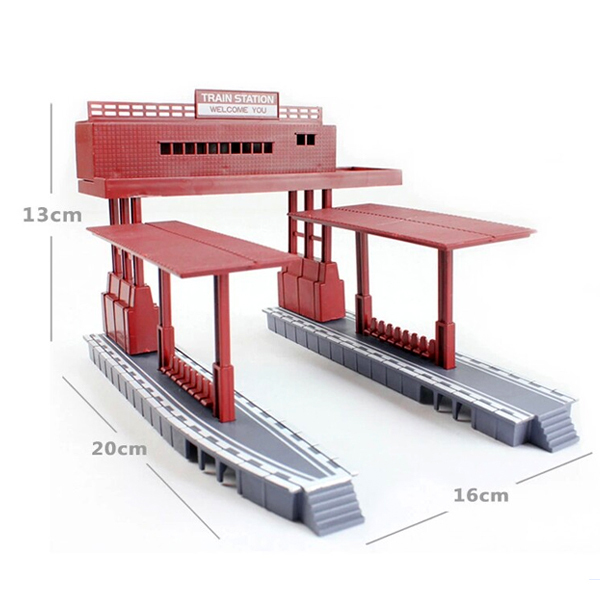 D511 Tmas Electric Rail Train Toys General Track Scene Accessories (station)