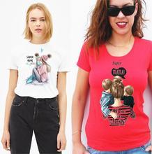 Super Mama MOM Brand T shirt Women Mothers T-shirt Harajuku TShirt Tops tee Femme Vogue Summer