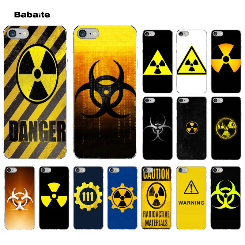 Babaite Nuclear the bomb logo Luxury Unique Design Phone Cover for iPhone X XS MAX 6 6S 7 7plus 8 8Plus 5 5S XR case