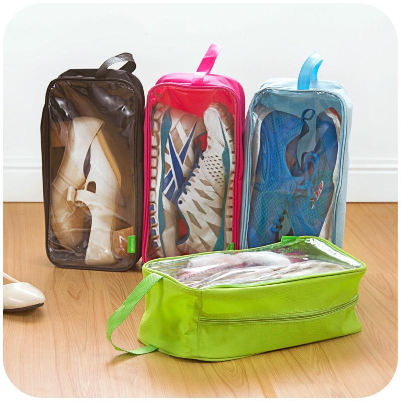 Путешествия мыть Нижнее Бельё для девочек Обувь сумка для хранения Сумочка Открытый Портативный Водонепроницаемый ПВХ и ткань Оксфорд вис...