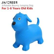 Jaycreer собака батут надувной космический бункер, ездить на надувной животное