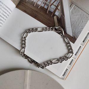 Image 4 - Silvology 925 Sterling Silver Crude Chain Bracelets Texture Temperament Elegant Korea Bracelets For Women Friendship Jewelry