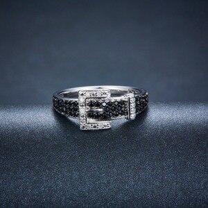 Image 4 - Hutang יהלומי חתונת טבעות טבעי חן ספינל 925 סטרלינג כסף חגורת צורת טבעת בסדר אבן תכשיטי עבור נשים בנות חדש