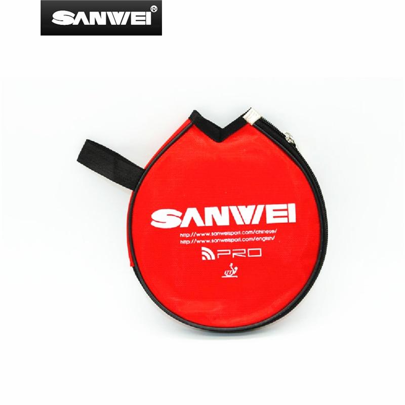 SANWEI Table Tennis Case Cover Ping Pong Bag Racquet Tenis De Mesa