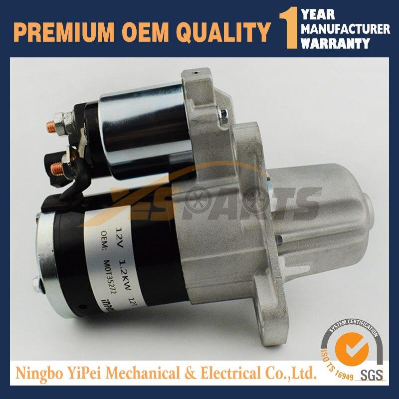 MXS341 12V 1.2KW 70-6253 92182365 ASMI3373 Starter Motor to Fit Holden Commodore VZ & VE 3.6L Petrol V6 (LY7) 2004 to 2013MXS341 12V 1.2KW 70-6253 92182365 ASMI3373 Starter Motor to Fit Holden Commodore VZ & VE 3.6L Petrol V6 (LY7) 2004 to 2013