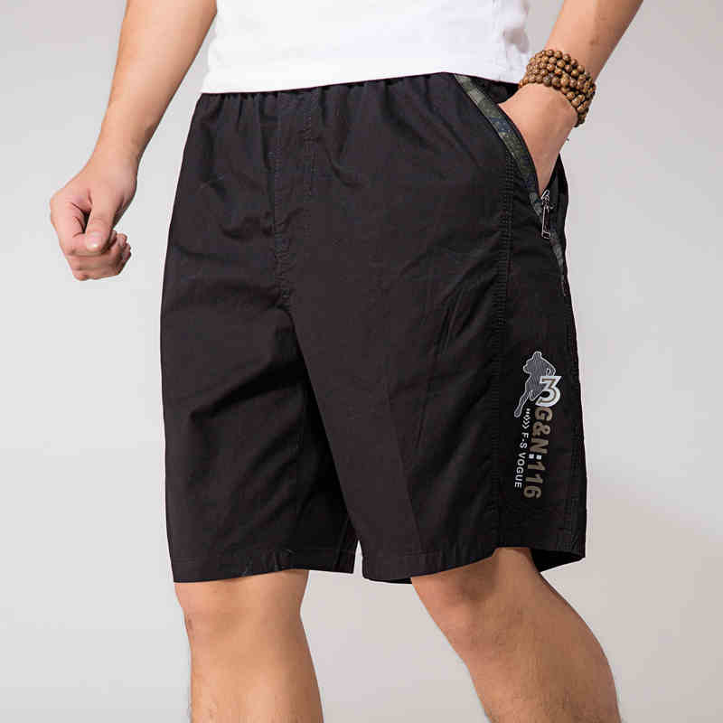 Boards     Shorts   Men Summer Thin Loose Fashion   Shorts  -Pants Army Green Splilced Plus Size Men   Shorts   Casual Wear A3370