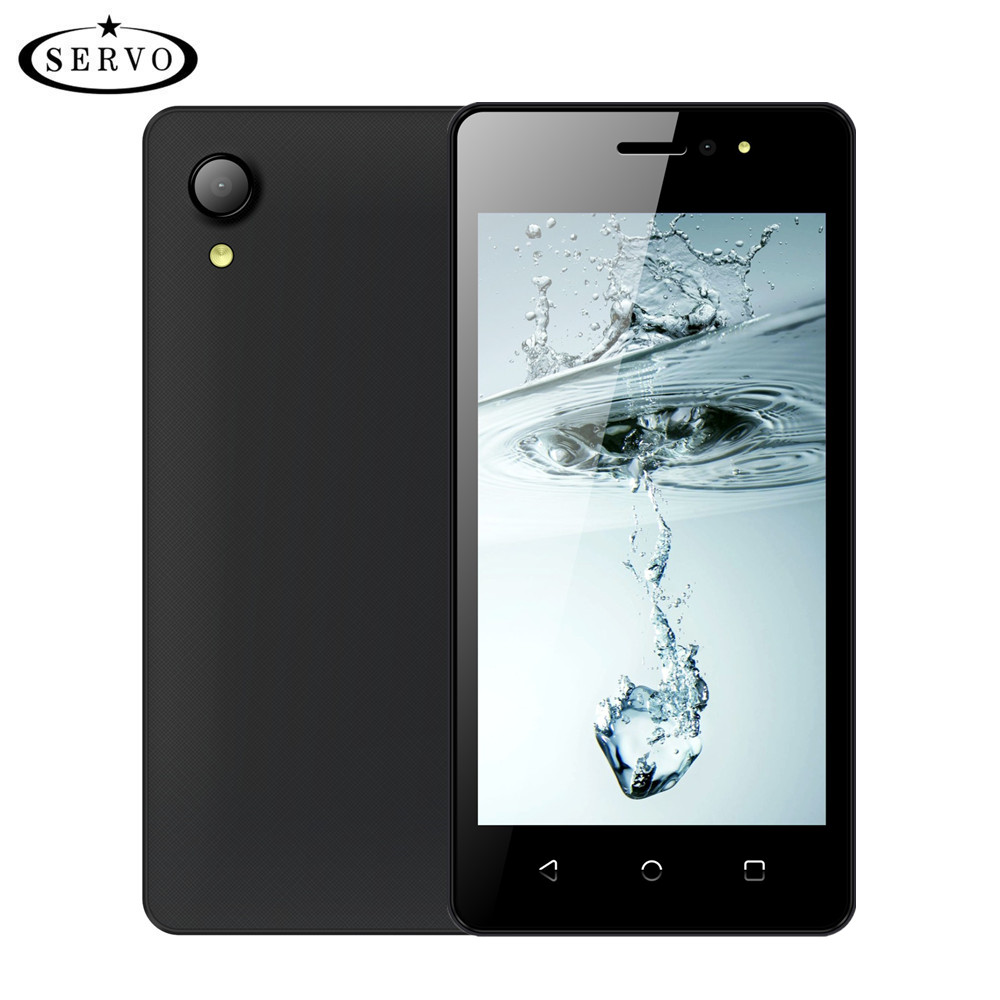 "SERVO Smartphone W280 4.5"" Screen MTK6580M Quad Core 2800mAh Android 7.0 cellphone ROM 4GB Camera 5.0MP GPS WCDMA Mobile Phones"