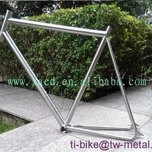Титановая велосипедная Рама с ручной щеткой, сделано в Китае, титановые велосипедные рамы с фиксированной передачей XACD титановые велосипедные рамы