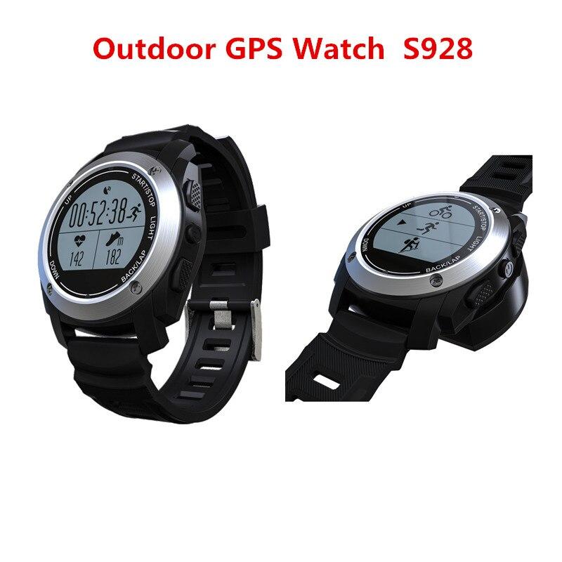 S928 GPS Sport Watch Real-time Heart Rate Smart Watch Height Race Speed Outdoor GPS Fitness Tracker SmartBand Wristband Watch smart baby watch q60s детские часы с gps голубые