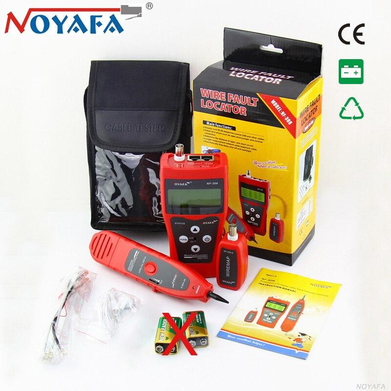 NOYAFA NF 308 LAN Network Cable Tester Telephone Wire Tracker for Cat5e Cat6e RJ45 Coacial BNC