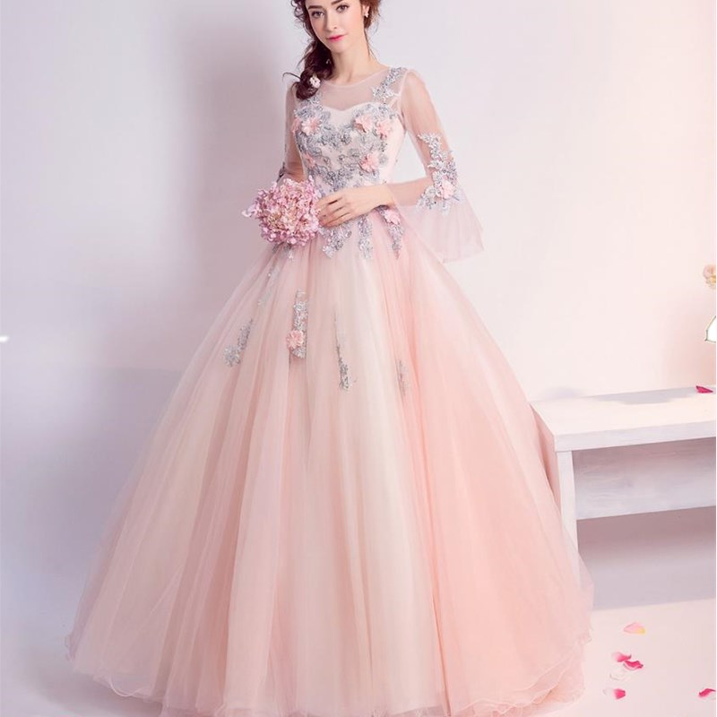 ruthshen Ball Gown Quinceanera Dresses With Flowerd Appliques Beads  Debutante Teens Sweet 16 Masquerade Prom Gowns-in Quinceanera Dresses from  Weddings ... 68820d109beb