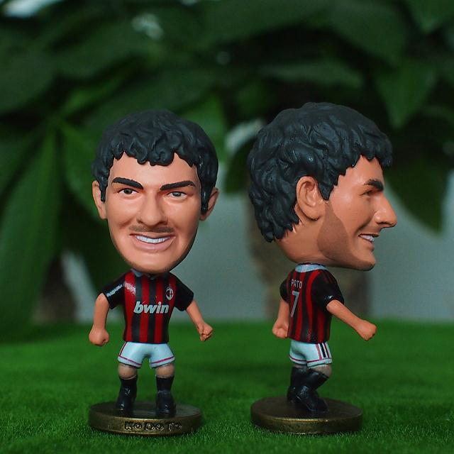 Football star Soccer Player Star 7# PATO (AC-Classic) 2.5 Toy Doll Figure ...