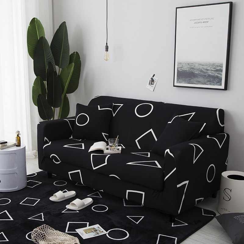 Чехлы секционные эластичные чехлы для диванов диван в гостиной покрытие L форма покрывало на кресло один/два/три сиденья