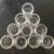 120 Casos de Uñas Nail Art Escarcha Polvo Del Polvo de Vacío Toda La Venta Clara Cajas Vacías Botellas Ollas Recipiente Graduado Botellas De Plástico