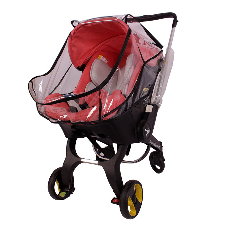 Image 4 - Baby strolle accessorie rain cover of high view pram baby car seat raincoat for foofoo strollerStrollers Accessories   -