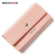 2017 New Came Female Long Standard Wallet PU Leather Women Clutch Wallets Coin Change Phone Purse Cash Card Holder Lady Carteras цена 2017