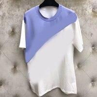 Женская футболка из 100% хлопка высокого качества, модные топы с принтом, Женская мода 2019, Офисная Женская белая футболка с круглым вырезом