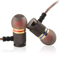 KZ ED2 Professional In Ear Earphone Metal Heavy Bass Sound Quality Music Earphone China S High