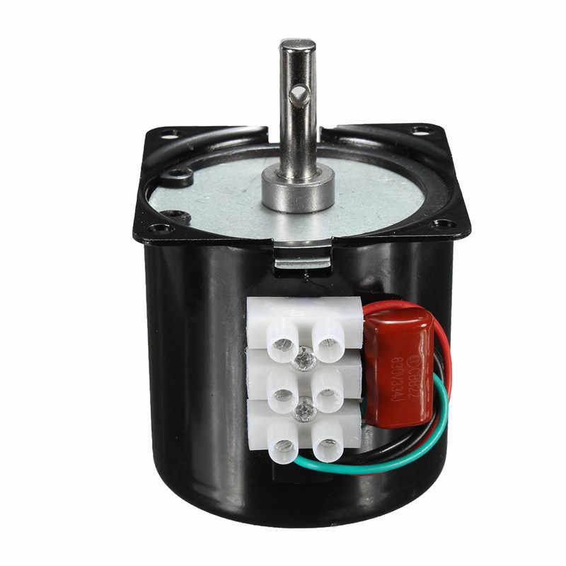60 KTYZ 220 V 14 W постоянный магнитный Электрический синхронный мотор 50Hz 15r/min Горячая продажа