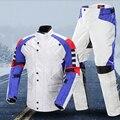 DUHAN Motorcycle Riding jersey Ropa Trajes chaquetas de carreras de Moto tire Anti caída Reflejan ropa Con almohadillas CE