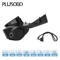 PLUSOBD Verborgen HD Dvr Voor Benz GL M W166 Lage Model Met Zwart/Grijs/Bruin 170 Graden WDR Draadloze Video Camera Met OBDII