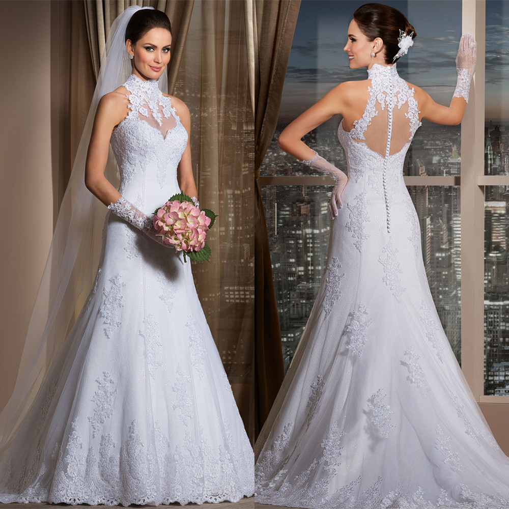 Online Buy Wholesale Halter Wedding Dress From China