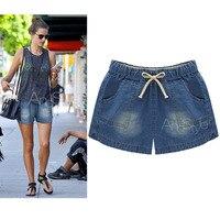 New Fashion Women S Jeans Summer Stretch Denim Shorts Slim Loose Casual Woman Jeans Shorts Denim