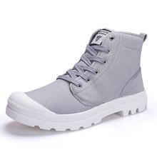 Men Casual Shoes Ankle Military Canvas Shoes Tactical Combat
