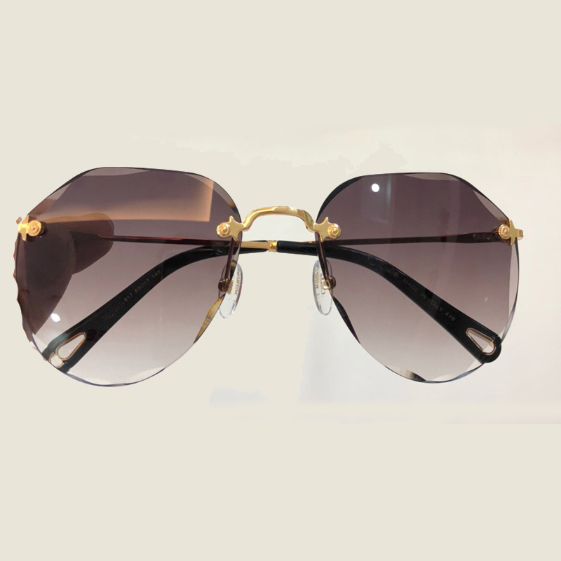 Oval lens Sunglasss Women Brand Designer 2018 High Quality Glasses Feminino Vintage Fashion Sun Glasses Shades with Packing Box