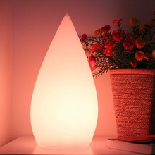 D12*H24cm 2015 wholesale rechargeable wirless portable luminaire led table lamp light DHL Free shipping 5pcs 2015 new free shipping waterproof rechargeable under table led light for wedding vc l120