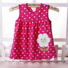 Summer dress – Hearts and fruits